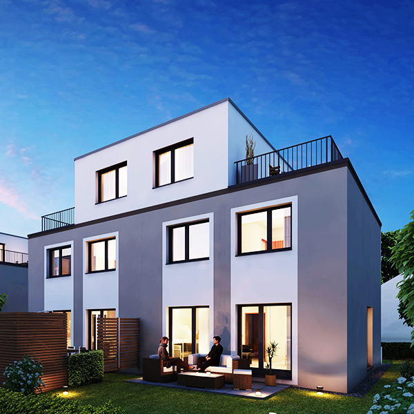 Doppelhäuser Regensburg Fertigstellung 2020