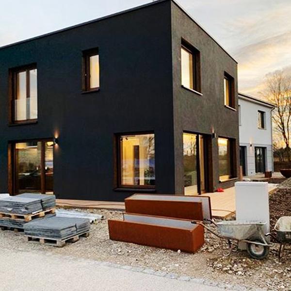 Musterhaus Poing Fertigstellung 2019