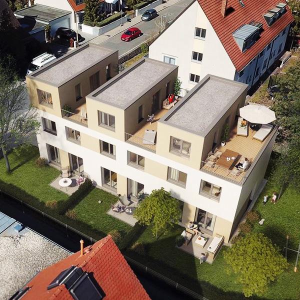 Reihenhaus Nürnberg Thon Fertigstellung 2020