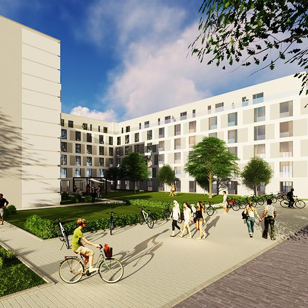 Study Aparts Berlin Fertgistellung 2020
