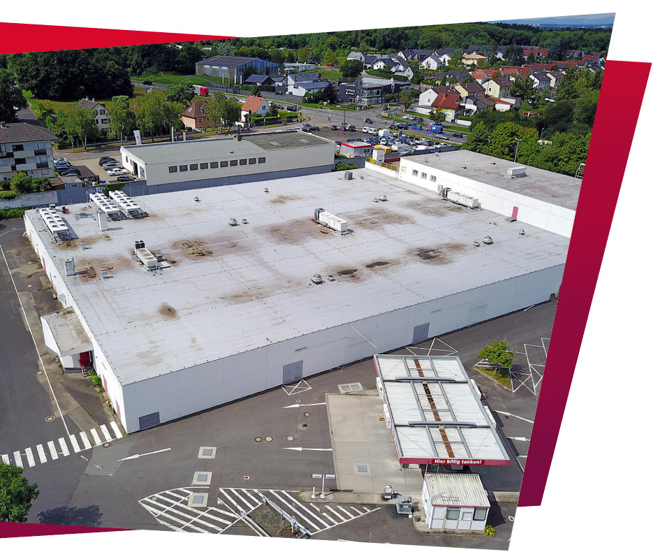 Deutsche Hausmanufaktur Projekt in Hanau auf dem Rewe Gebiet