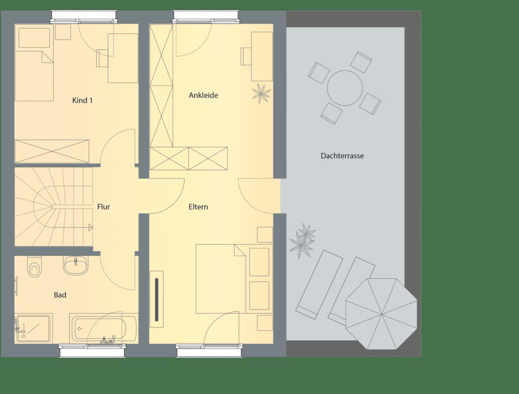 5.5-Obergeschoss-Grundriss